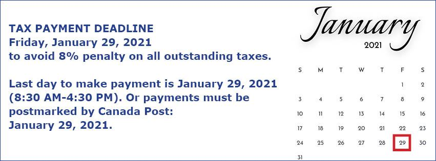 February 1 Tax Penalty