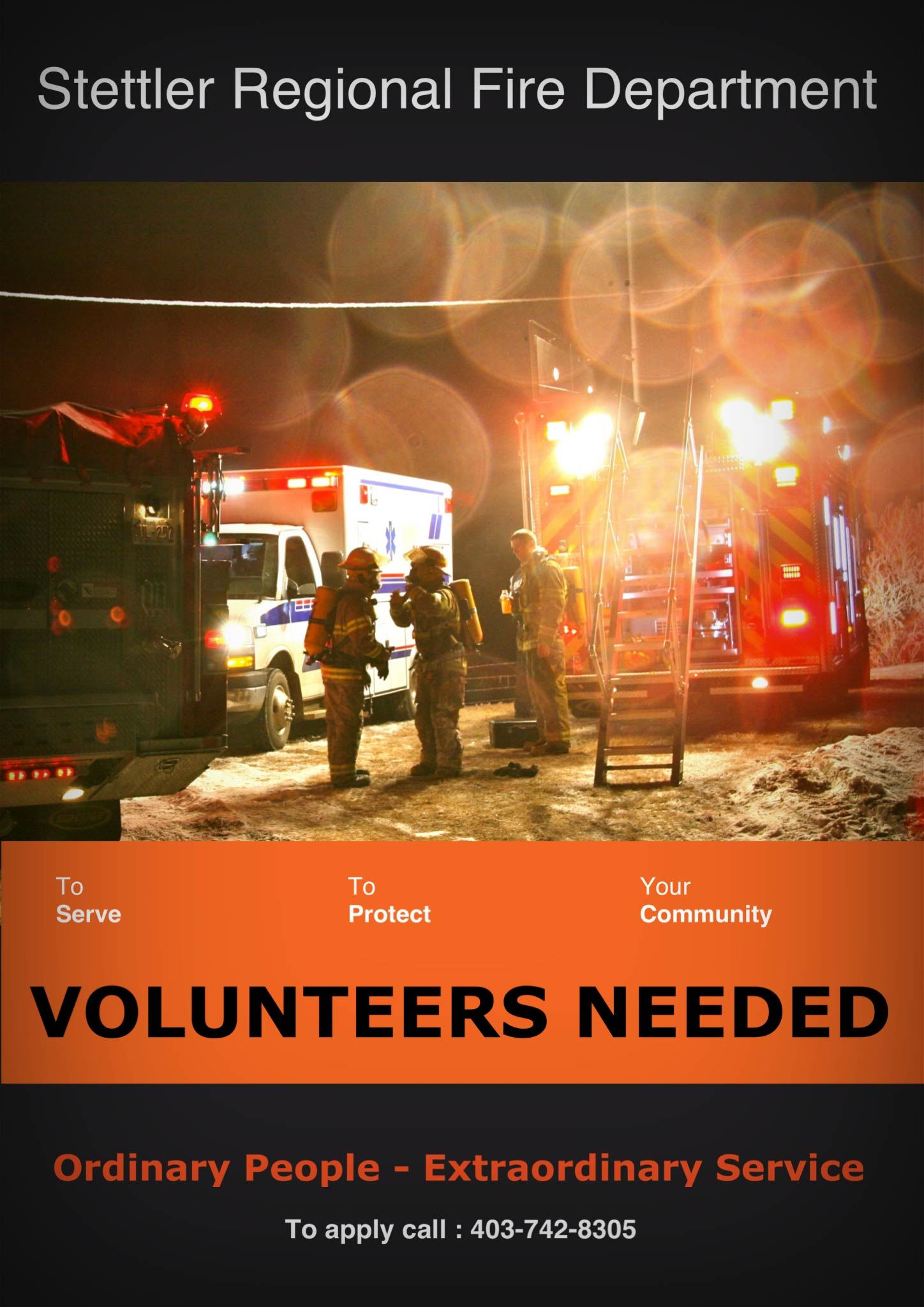 Recruitment poster rescue 14